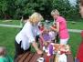 Piknik na školní zahradě